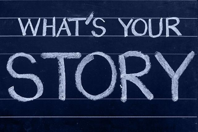 英語であなたの物語は何?