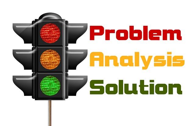 問題、分析、解決の英語